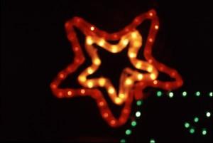 defocused star